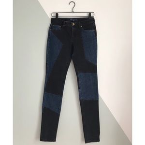 ⋒ Marc Jacobs Patchwork Denim Jeans — Size 27